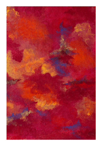Autumn Clouds Wall Art | Artist : Shubhangni Gupta