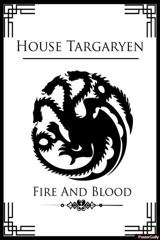 Wall Art, House Targaryen #2 Artwork | Artist: Palna Patel, - PosterGully - 1