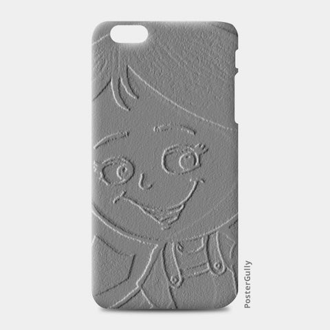 3D Cute Girl iPhone 6 Plus/6S Plus Cases | Artist : ashman's