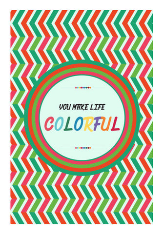 Colorful Life Art PosterGully Specials
