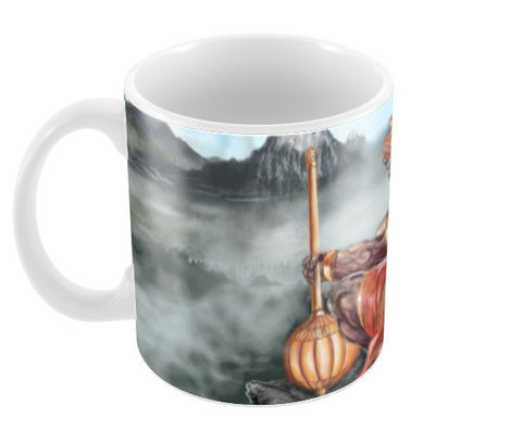 Lord Hanuman -The greatest superhero Coffee Mugs | Artist : Draw On Demand