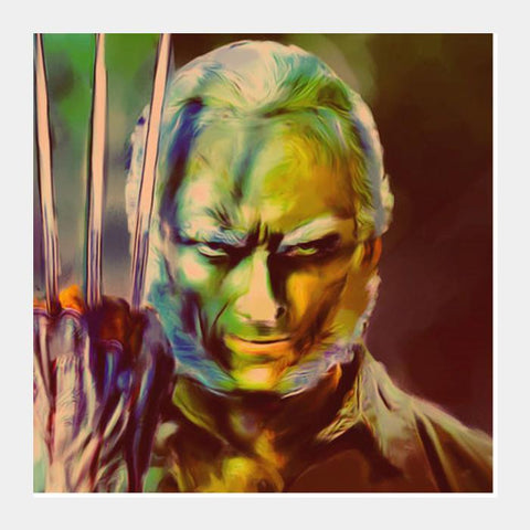 Old Man Logan Square Art Prints PosterGully Specials