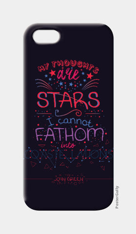 iPhone 5 Cases, Constellations by John Green | Artist: Mohak Gulati, - PosterGully