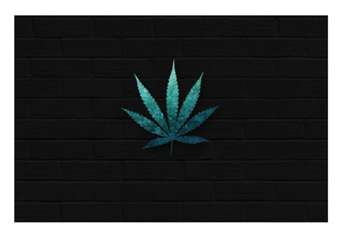 Mythical Weed Wall Art  | Artist : C-zure
