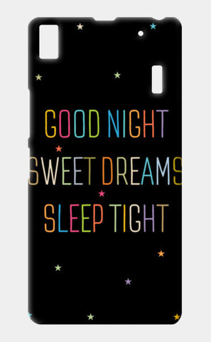 Good Night Sweet Dreams Sleep Tight Lenovo A7000 Cases | Artist : Designerchennai