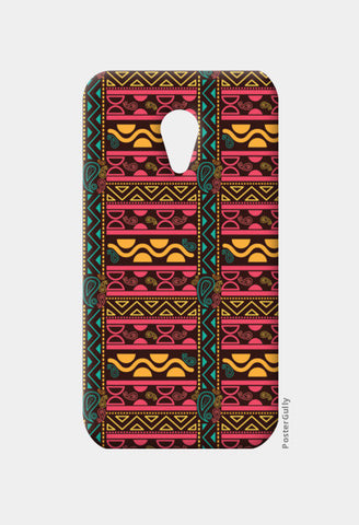 Abstract geometric pattern african style Moto G2 Cases | Artist : Designerchennai