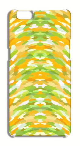 Cool Funky Summer Abstract Orange Green Pattern Oppo A57 Cases | Artist : Seema Hooda