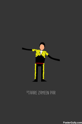 Brand New Designs, Taare Zameern Par Funny Artwork, - PosterGully - 1
