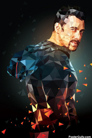 Wall Art, Salman Geometrical  Artwork | Artist: Abhishek Aggarwal, - PosterGully - 1