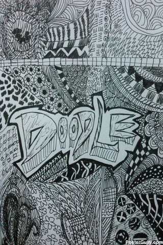 Brand New Designs, Doodle Abstract Artwork | Artist: Aishwarya Girish Menon, - PosterGully - 1