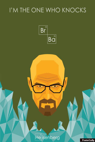 Wall Art, Breaking Bad Heisenberg Artwork | Artist: Soumyajuoti Dey, - PosterGully