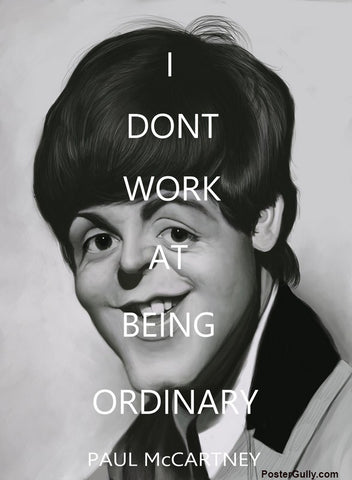 Wall Art, Paul McCartney Artwork | Artist: Sri Priyatham, - PosterGully - 1