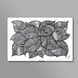 Leafy Tangles Wall Art  | Artist : Eggoticons