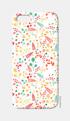 Floral seamless pattern iPhone 5 Cases | Artist : Designerchennai