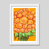 Premium Italian Wooden Frames, Swirls and flowers ! Premium Italian Wooden Frames | Artist : Shakthi Hari, - PosterGully - 4