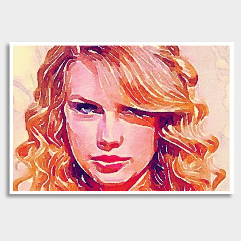 Taylor Swift Giant Poster | Artist : Delusion