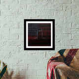 Batman Dark Knight Premium Square Italian Wooden Frames | Artist : Tiny Dots