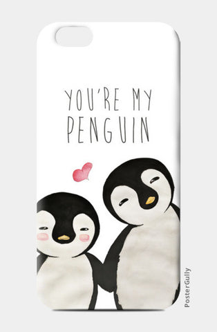 You're My Penguin | Artist: Aparna Singh iPhone 6/6S Cases | Artist : Aparna Singh
