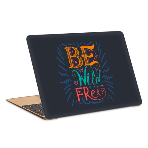 Wild And Free Artwork Laptop Skin