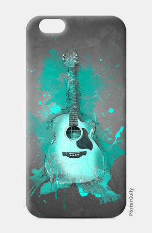 Guitar Splash – Aqua iPhone 6/6S Cases | Artist : Darshan Gajara's Artwork