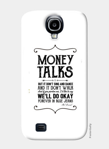Money talks Samsung S4 Cases | Artist : Abhishek Faujdar