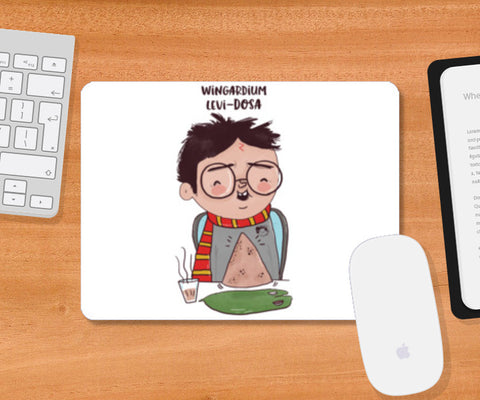 Harry Potter & Dosa Mousepad | Artist : Doodleodrama