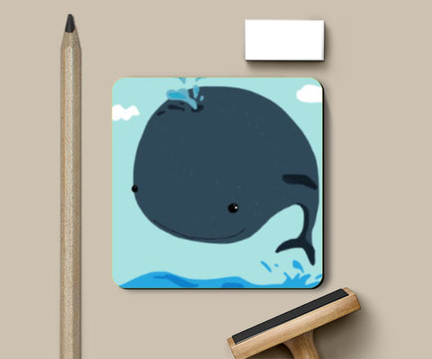 Coasters, Whale I love you Coaster | Artist: saurabhzuve, - PosterGully