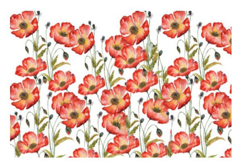 PosterGully Specials, Blooming Poppy Flowers Floral Spring Decor Wall Art  | Artist : Seema Hooda, - PosterGully