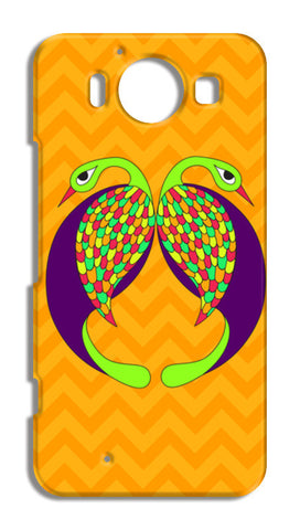Peacock Love Nokia Lumia 950 Cases | Artist : Stuti Bajaj