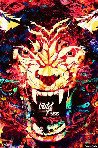 Wall Art, Wild And Free Artwork | Artist: Pankaj Bhambri, - PosterGully