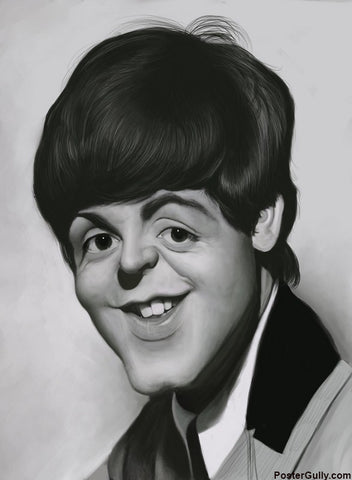 Brand New Designs, Paul McCartney #1 Artwork | Artist: Sri Priyatham, - PosterGully - 1