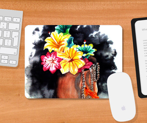 Plastic Flowers Mousepad | Artist : Sanjay Ghosh