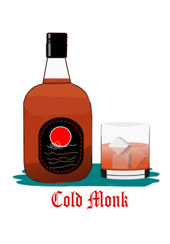 C old monk Wall Art | Artist : Keshava Shukla