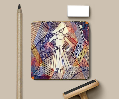 Coasters, Fashion coaster Coasters | Artist : Navya Rao, - PosterGully