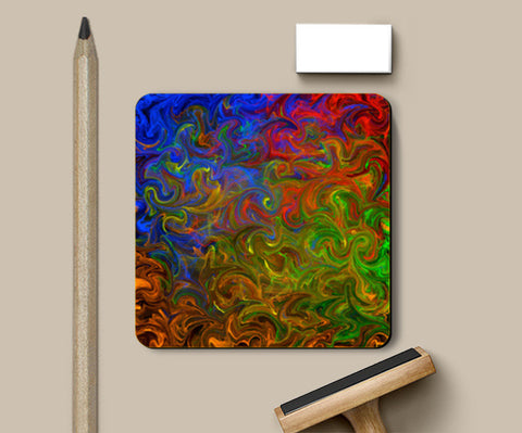 Rhythm of colors Coasters | Artist : Amar Singha