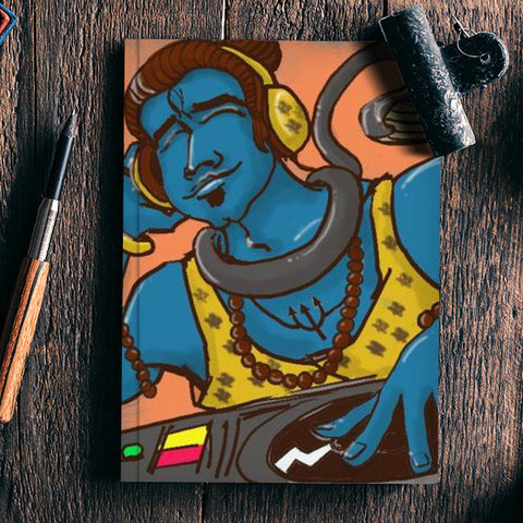 DJ Shiv Notebook | Artist : Sanjay Ghosh