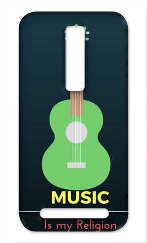Music is my religion Asus Zenfone 2 Cases | Artist : Pallavi Rawal
