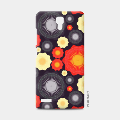 Geometric object pattern illustration Redmi Note Cases | Artist : Designerchennai