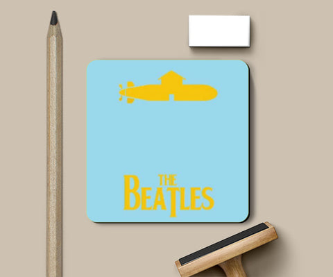 Coasters, Yellow Submarine Coaster | Artist: Revant Mahajan, - PosterGully