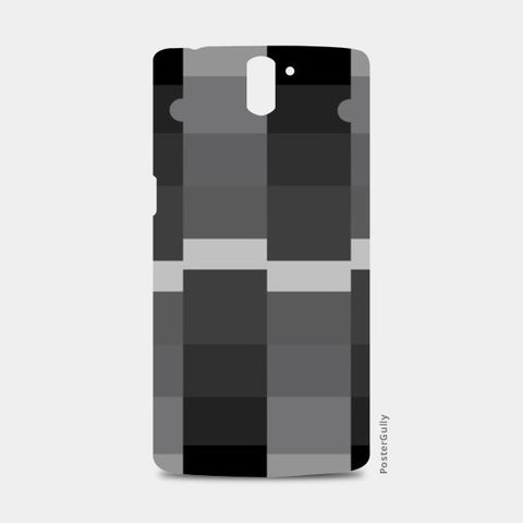Greyscale Pattern Oneplus One Case One Plus One Cases | Artist : Vedant Sharma
