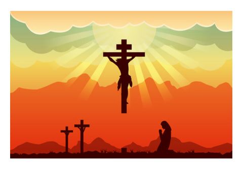 Jesus Christ Wall Art  | Artist : Creative DJ