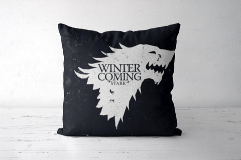 Winter is coming Cushion Covers | Artist : Navdeep Sharma