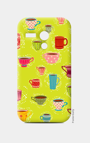 Moto G Cases, English Tea Cup Moto G Cases | Artist : Pratyusha Subramaniam, - PosterGully