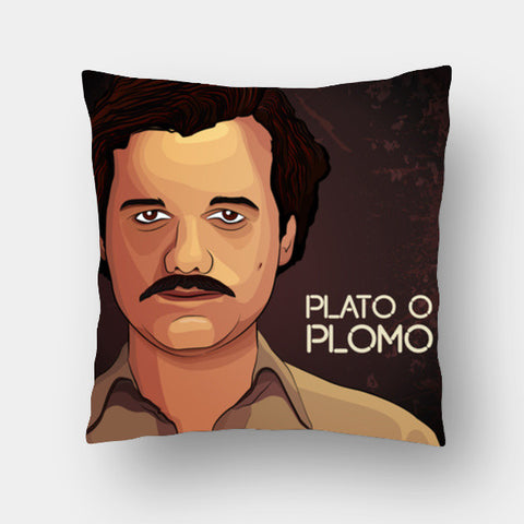 Cushion Covers, Narcos - Pablo Escobar Cushion Covers | Artist : Ashley Abraham, - PosterGully