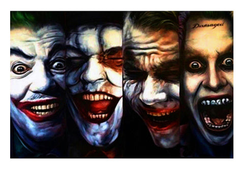 joker batman gotham dark knight  Wall Art  | Artist : BY Darakhsha Dandekar, Karan Mehta and Udit Shah