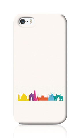 iPhone Cases, Capital New Delhi India Minimal Art iPhone 5/5S Case | Artist: Abhinav Anand, - PosterGully