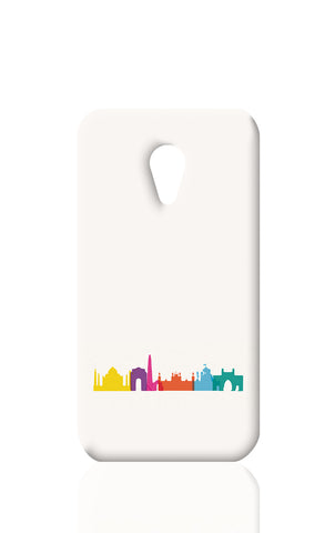Moto G2 Cases, Capital New Delhi India Minimal Art Moto G2 Case | Artist: Abhinav Anand, - PosterGully