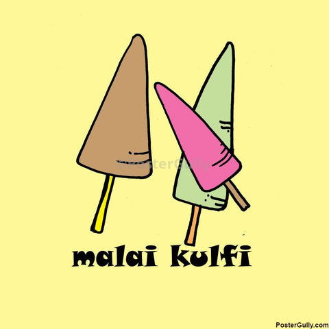 Brand New Designs, Malai kulfi Artwork | Artist: Pradeesh K, - PosterGully