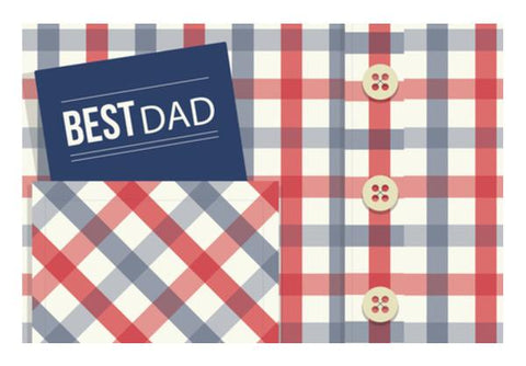 PosterGully Specials, Best Dad : Fathers Day Wall Art  | Artist : Amantrika Saraogi, - PosterGully