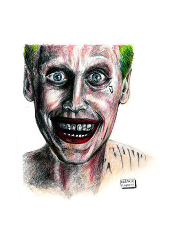 Wall Art, The Joker from Suicide Squad Wall Art | Artist : Karthik Abhiram, - PosterGully